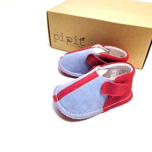 NIB pipit Leather Baby Shoes